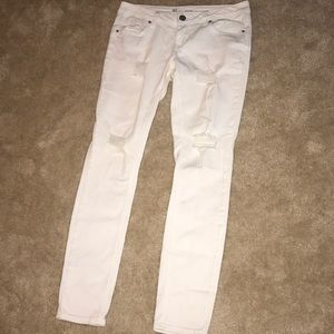 RSQ ripped skinny jeans
